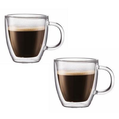 Tazas para caf bodum de doble pared 50 dcto for Tazas para cafe espresso