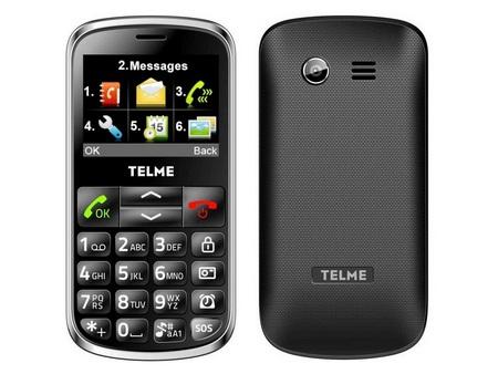 TELÉFONO MÓVIL PARA MAYORES TELME C155