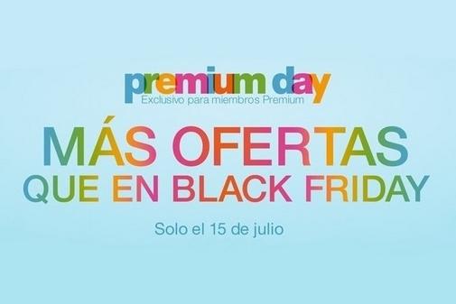 Premium Day Amazon España - Miércoles 15 de julio