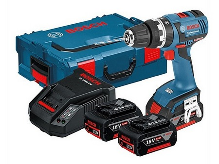 Atornillador Taladro Bosch GSR 18 V-EC Professional